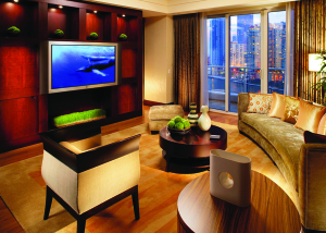 Mandarin Suite Living Room